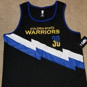 NBA Warriors Jersey #30-Curry-L